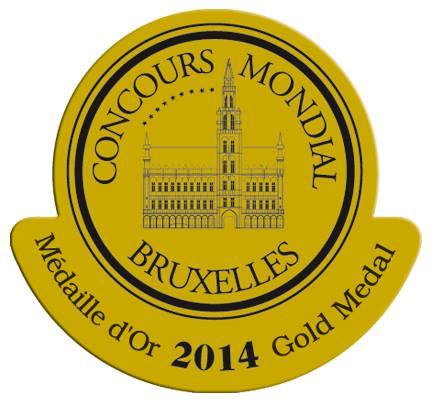 Medaille d'Or au Concours Mondial de Bruxellles